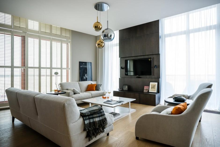идеальный современный интерьер квартиры