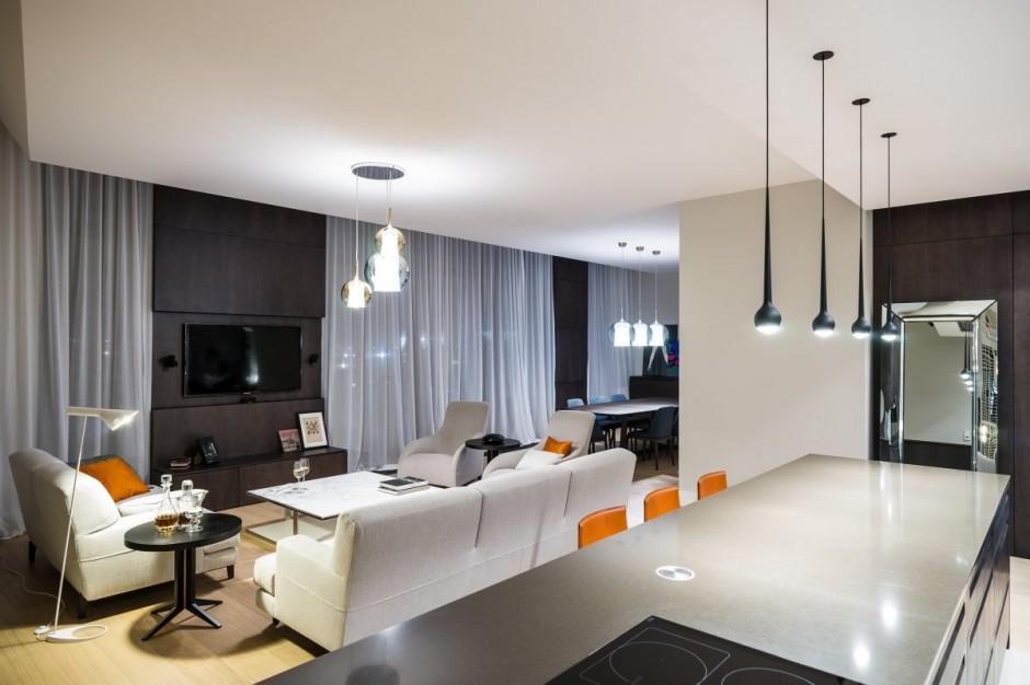 идеальный современный интерьер дома