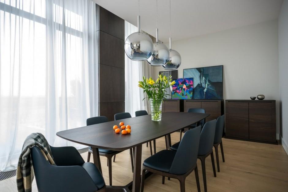 идеальный современный интерьер гостиной