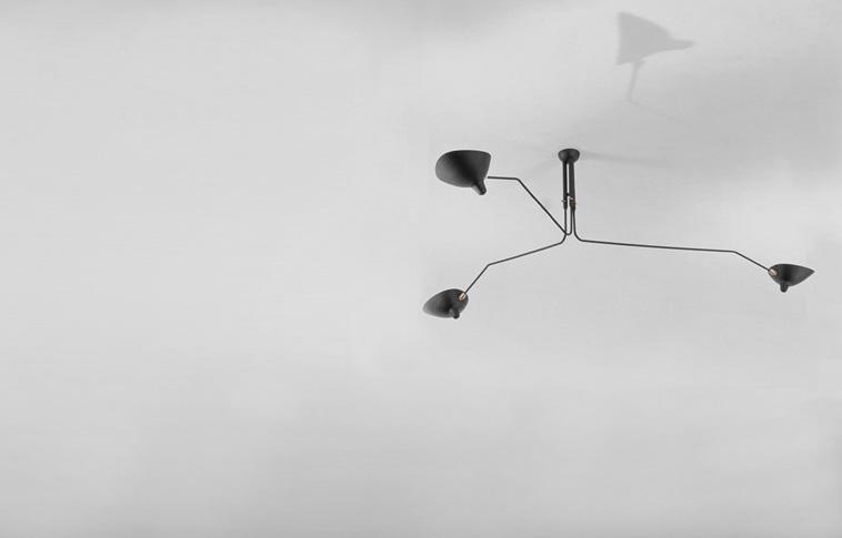 Лампы Serge Mouille