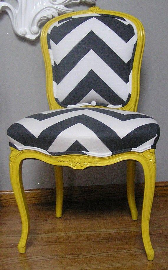 примеры современной модной обивки старой мебели
