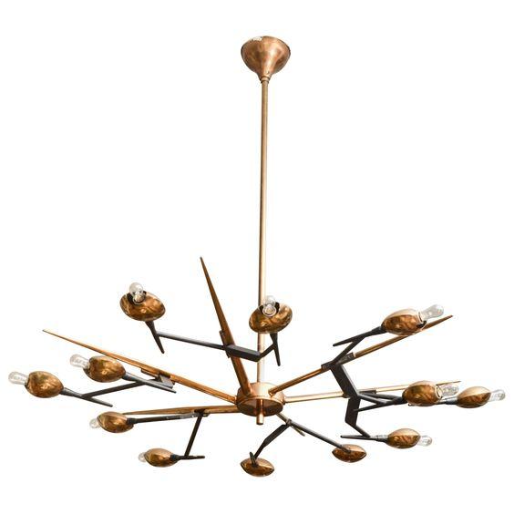 960s-italian-brass-and-black-metal-chandelier-by-oscar-torlasco